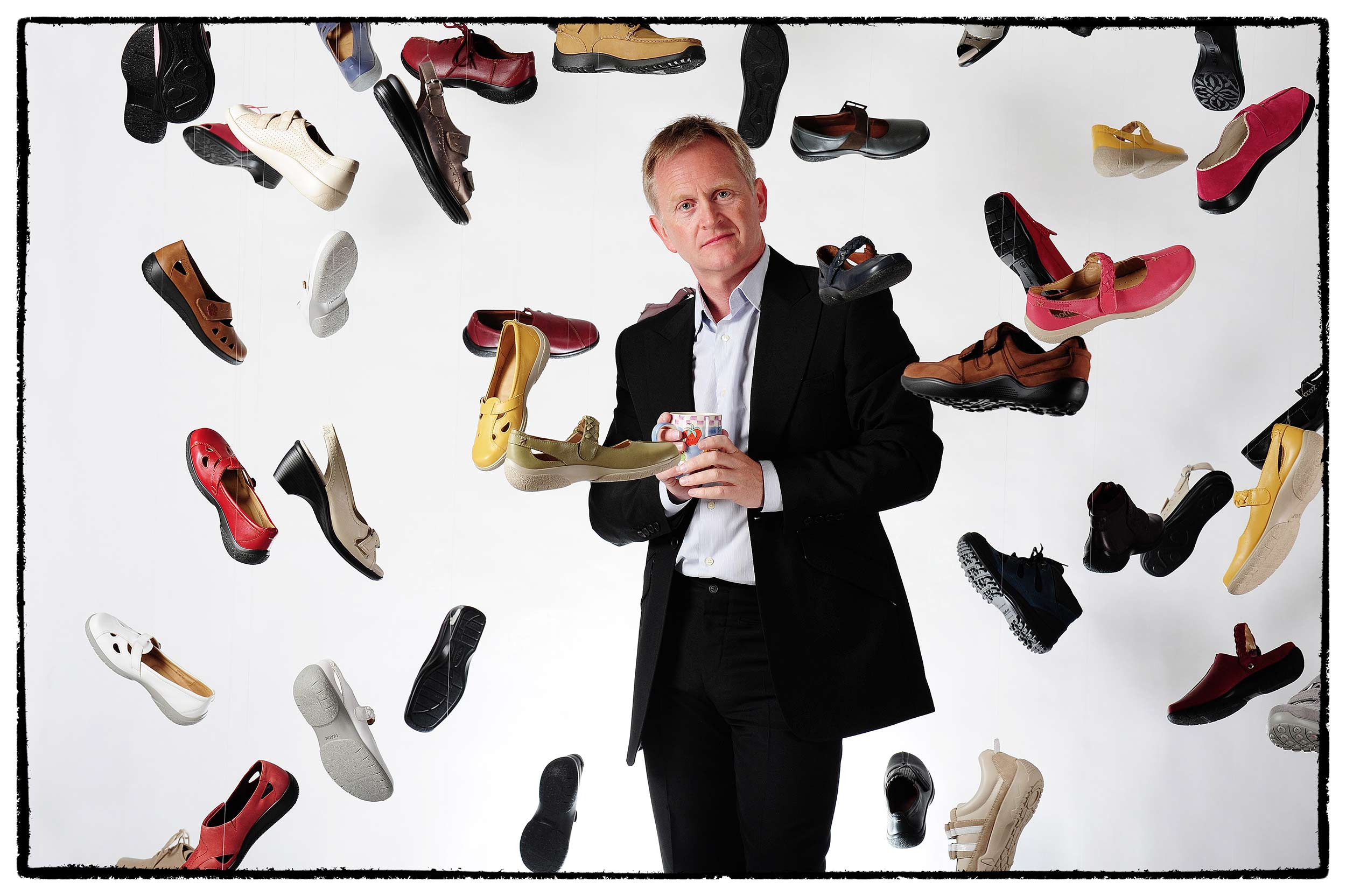 Jon Parker Lee - commercial photographer for Hotter Shoes UK Fashion Footwear Photography Hotter Shoes