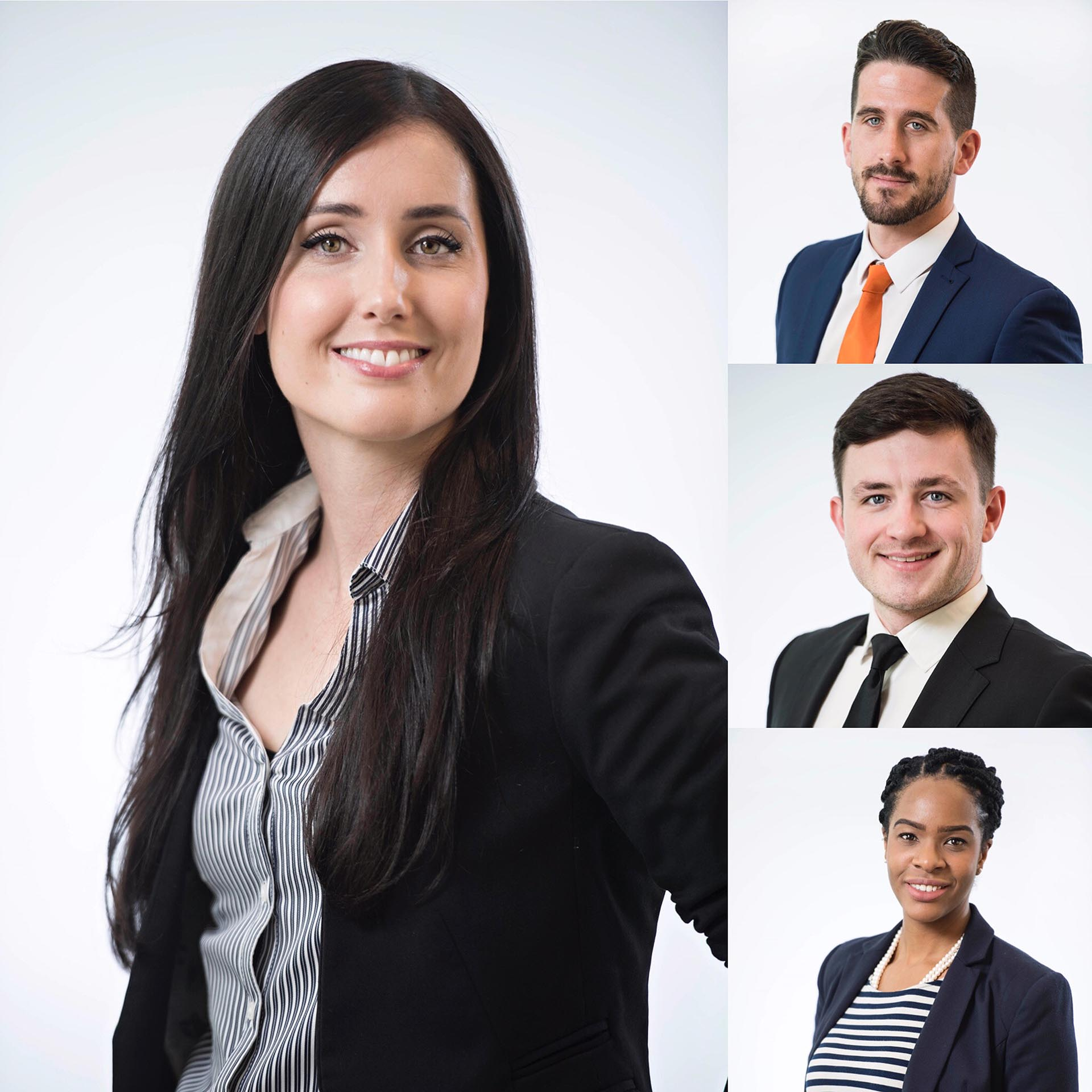 Photograph of Team members of UK Law firm various team member headshots photography by Jon Parker Lee
