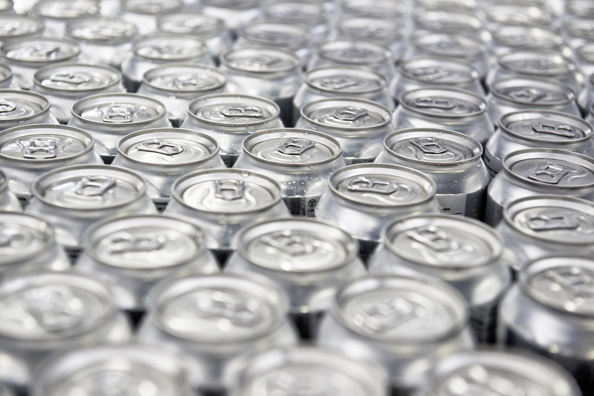 Photograph of Cans Product Photography at Princess Food Processing Factory industrial photography by Jon Parker Lee UK