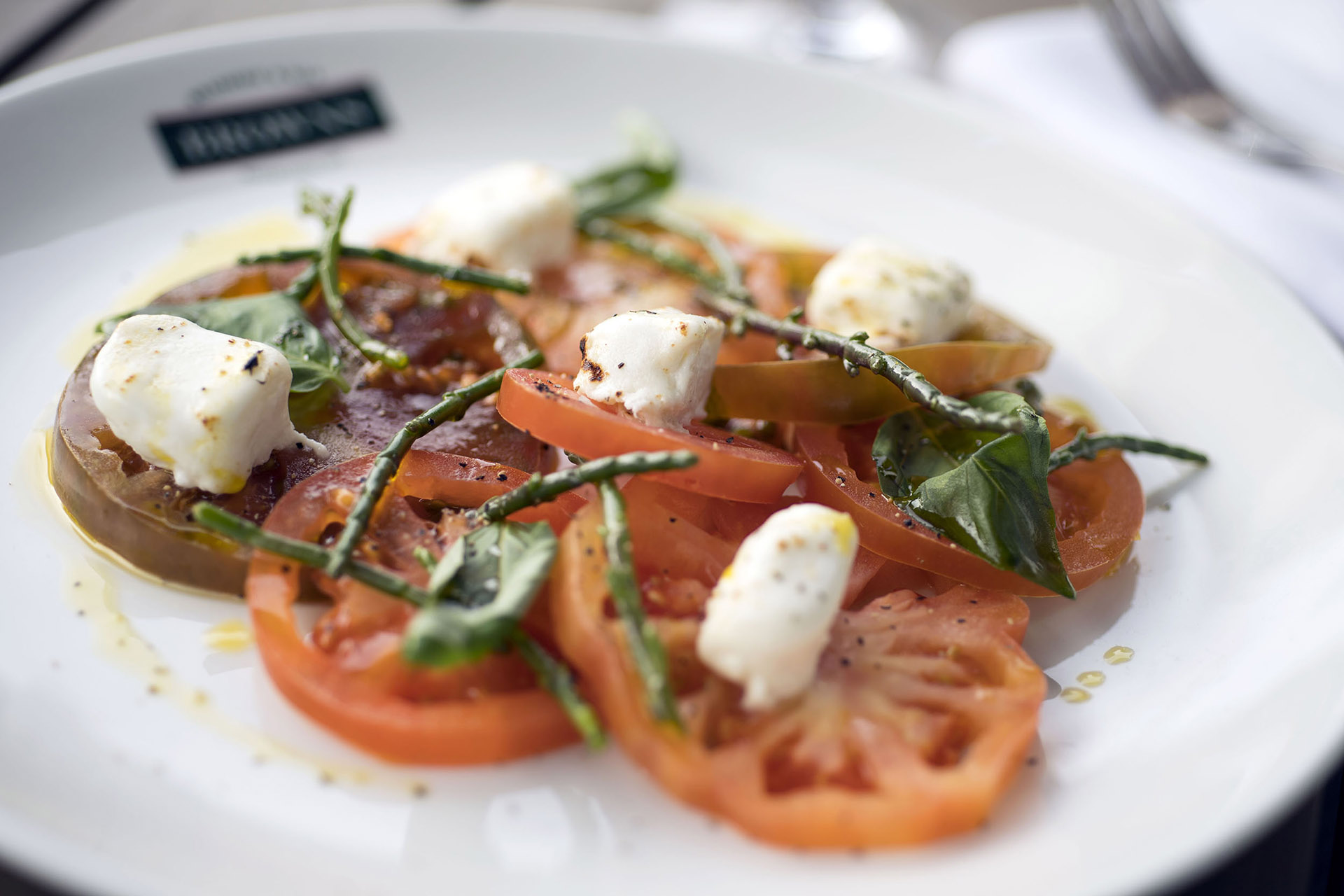 Photograph from Browns Restaurant in London showing new menu Food & Drink Photography by Jon Parker Lee UK wide