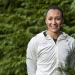 Photograph of Jessica Ennis Olympian by Portrait photographer Jon Parker Lee
