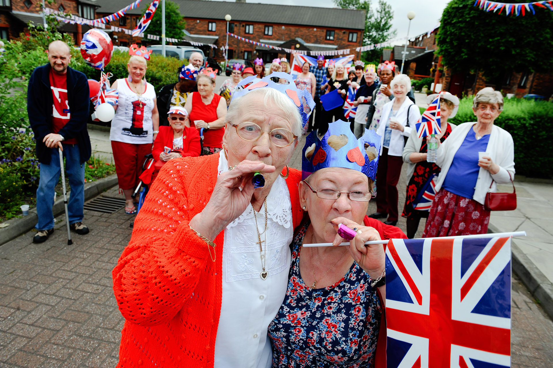Photograph of Street Party Housing Association Press Photography Jon Parker Lee