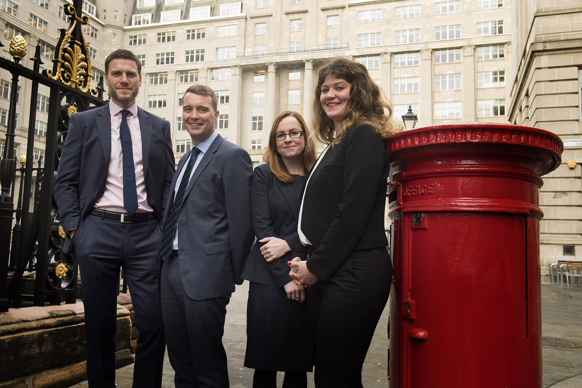 Photograph of Staff at Brabners Law Firm Liverpool by PR Photographer Jon Parker Lee