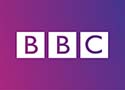 BBC logo Television photography by Jon Parker Lee