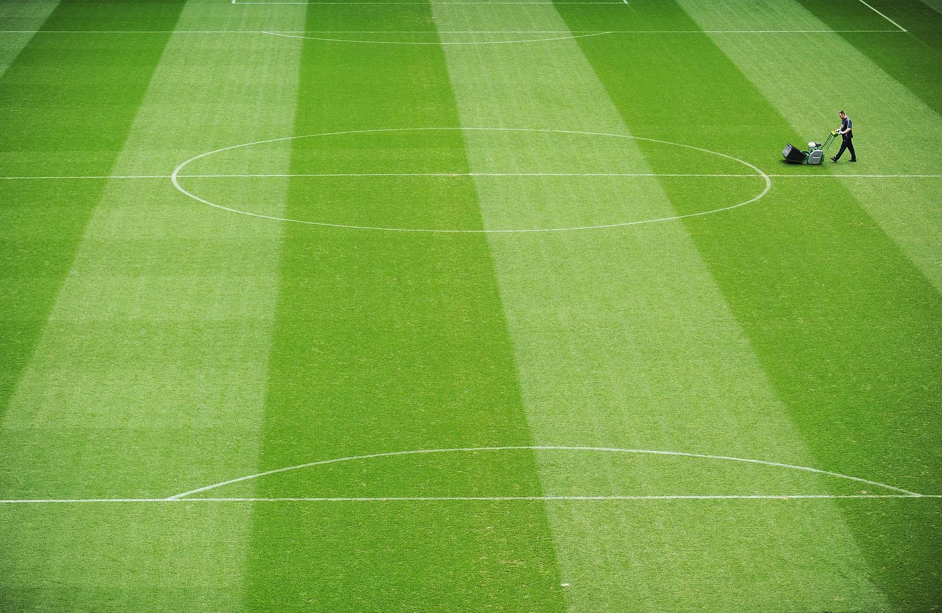 Photograph of Manchester City Etihad stadium pitch, Photographer Jon Parker Lee