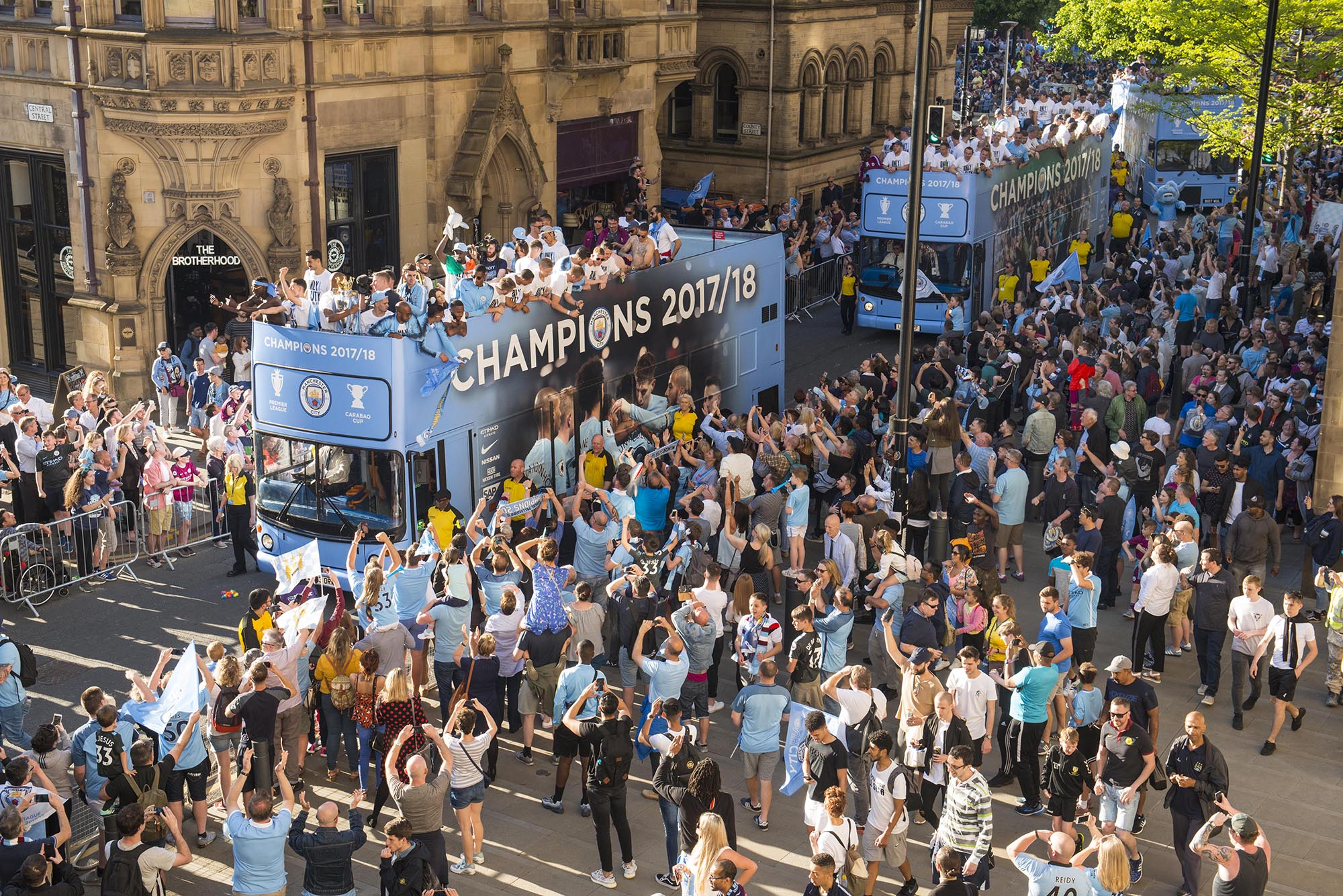 Manchester City Trophy Parade Jon Parker Lee Photographer
