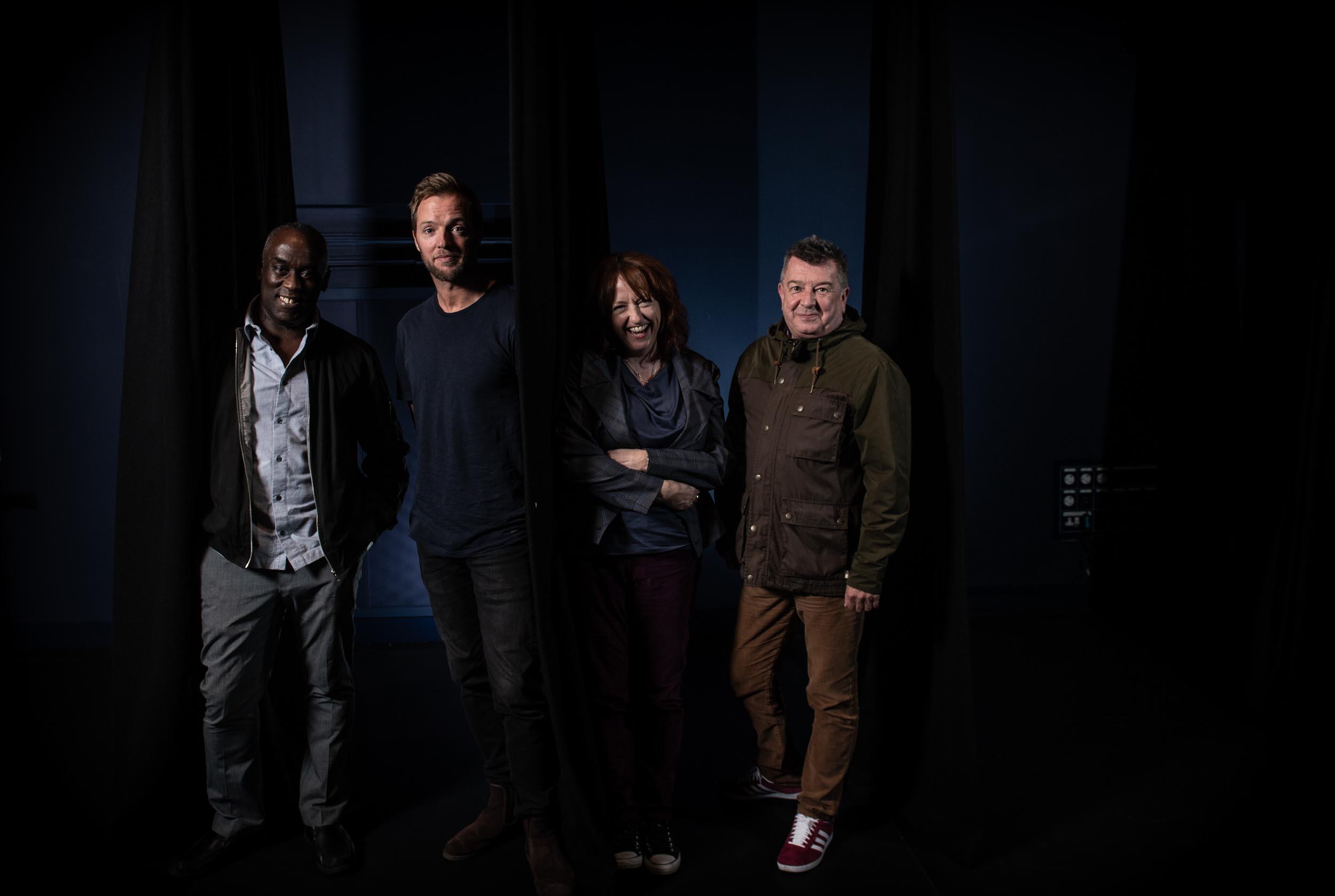 Alex Wheatle, Adam Sharp, Lisa Blower, Stuart Maconie Martin Harris Centre Manchester Literature Festival