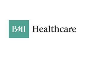 BMI Healthcare logo health photographer jon parker lee photography ltd