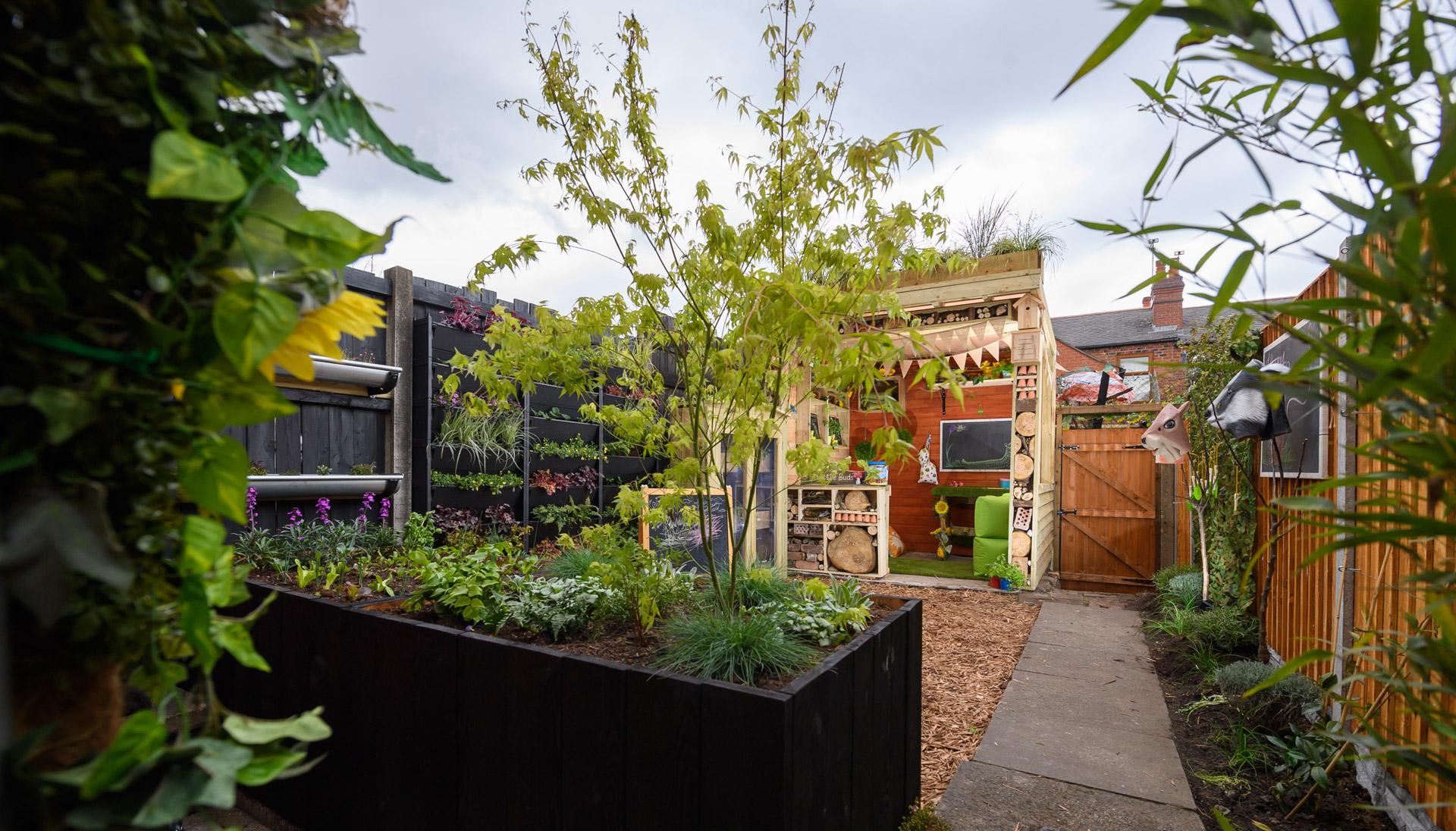 A garden in Birmingham