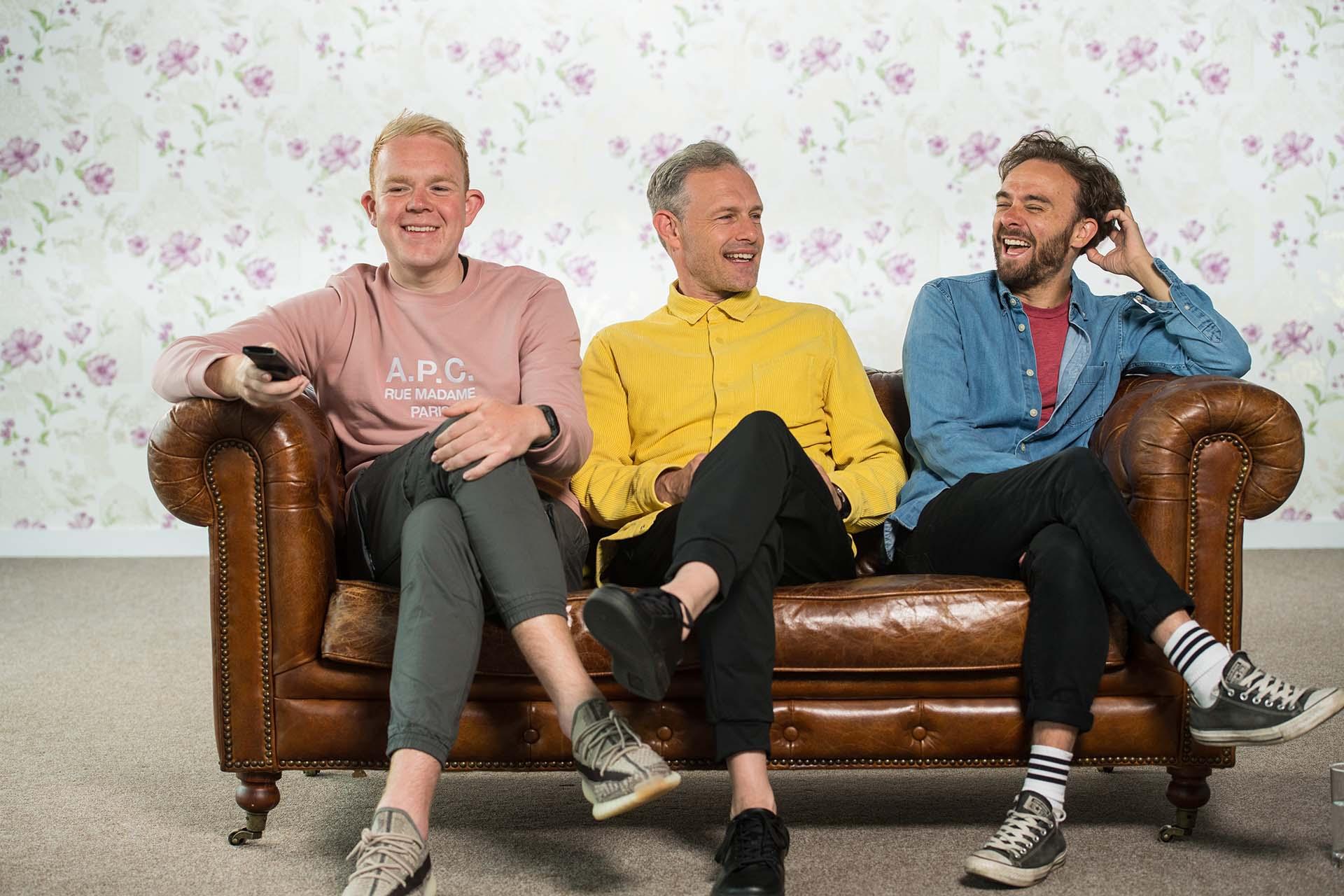 Apple podcast sofa cinema photography Jon Parker Lee
